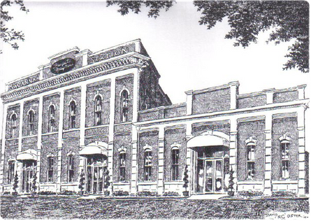 Sketch of Savannah Station